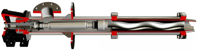 Cấu tạo của bơm trục vít bản ngắn DV