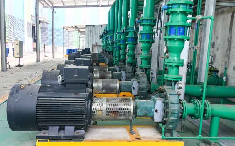 Bơm ly tâm Caprari NC Bơm cấp cho hệ thống HVAC nhà máy thép Tungho