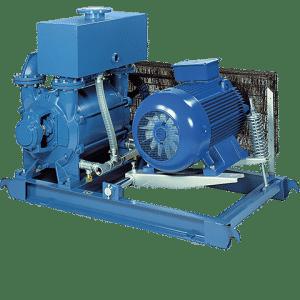 LRVS CRVS Liquid ring vacuum pump packages