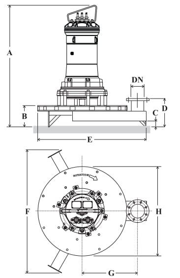 Cấu tạo của máy sục khí chìm ARS