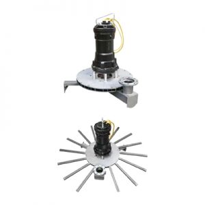 ARS - ARS/S Radial submersible aerators
